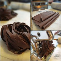 What is this nonsense?! The Brooklyn Ragazza: Award-Winning, Chocolate Pasta ~ Pasta di Cacao