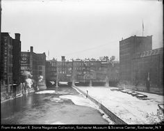 Main Street Bridge, Rochester, NY 1920
