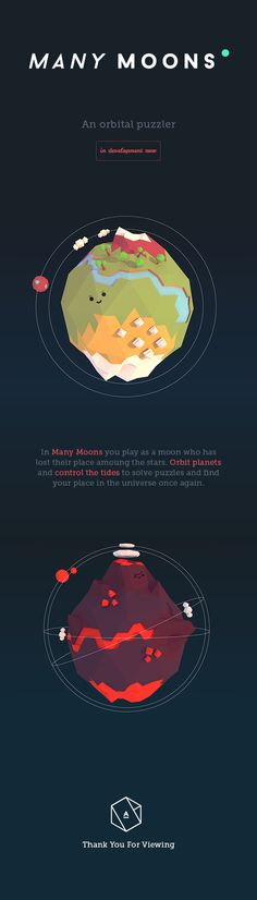 Many Moons on Behance