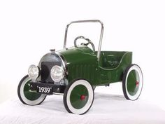 Coche de pedales Clásico Verde