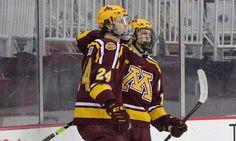 'U' Earns Seventh Sweep with 5-2 Win University Of Minnesota, Saturday Night, Athlete, America, Usa