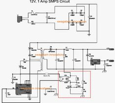 The post discusses how to make a variable voltage SMPS driver circuit, and also the method to modify any SMPS into a variable design Electronics Mini Projects, Simple Electronics, Electronic Circuit Projects, Switched Mode Power Supply, Power Supply Circuit, Electronic Schematics, Circuit Design, Ac Power, Variables