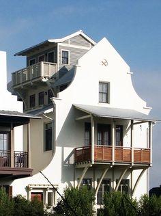Rosemary Beach residence, FL. Starr Sanford Design.