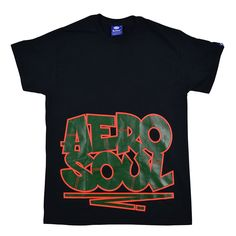 Aerosoul X Sya Graffi Tee - Black