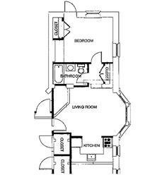 one bedroom house plans | Vernon House Apartments - 3226 Clifford Street, Philadelphia, PA ...