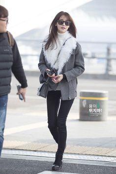 Yoona Airport Fashion