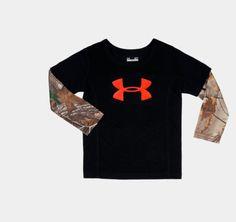 Boys' Toddler UA Hunt Camo Long Sleeve