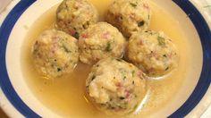 Canederli con speck e formaggio, ricetta originale Trentino Alto Adige