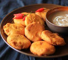 Bocaditos de patata especiada   #Receta de cocina   #Vegana - Vegetariana ecoagricultor.com