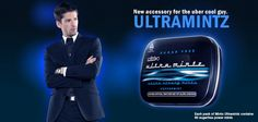 New accessory for the uber cool guy. #ULTRAMINTZ