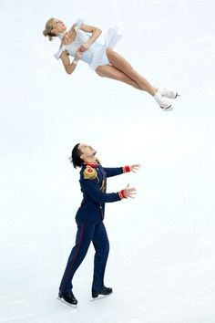 View striking Olympic Photos of Figure Skating/Sochi 2014 - see the best athletes, medal-winning performances and top Olympic Games moments. Winter Olympic Games, Winter Olympics, Ice Skating, Figure Skating, Aliona Savchenko, Tatiana Volosozhar, Gracie Gold, Ashley Wagner, Artist