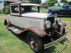 1930 plymouth coupe | 1930 PLYMOUTH MODEL 30U COUPE, 3 SPEED HYDRAULIC BRAKES, CLOTH ...