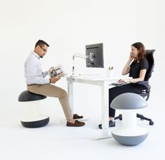 Ballo: A Stool for Active Sitting by Don Chadwick