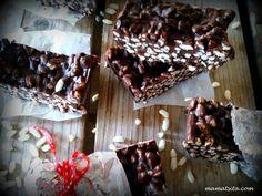 σοκολατένιες μπάρες ρυζιού Rice Krispies, Meat, Desserts, Food, Tailgate Desserts, Deserts, Essen, Postres, Meals