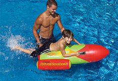 Swimline Dive Rocket Inflatable Pool Ride On Toy Swimming Gear, Swimming Pools, Water Floaties, Pool Floats For Kids, Dove Drawing, Diving Thailand, Lake Toys, Diver Tattoo, Pool Toys