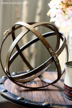 Learn how to turn an embroidery hoop into a statement piece!