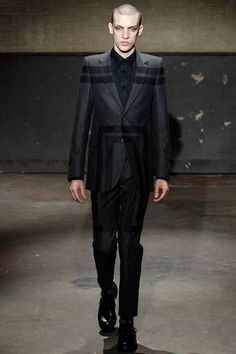 Alexander McQueen Fall 2014 Menswear Collection - Vogue