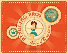 The Ringling Bros and Barnum & Bailey Circus - Art by Kelly Davis