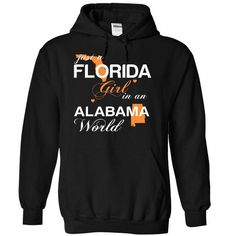 (FLJustCam002) Just A Florida Girl In A Alabama World - #gift friend #zip up hoodie. CHEAP PRICE => https://www.sunfrog.com/Valentines/-28FLJustCam002-29-Just-A-Florida-Girl-In-A-Alabama-World-Black-Hoodie.html?id=60505