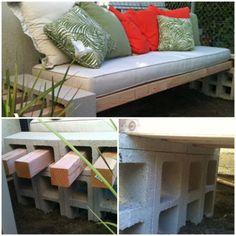 Simple DIY garden bench | DIY Tag