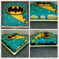 Batman Baby Shower Cake. The Person Who Asked Me To Make The Cake Had No