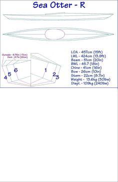 Folding Kayak Builders Manual - Sea Otter - R Folding Kayak
