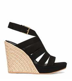 Tory Burch Bailey Multi-Strap Wedge Espadrille