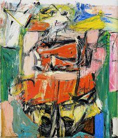 De Kooning, Woman VI, 1956