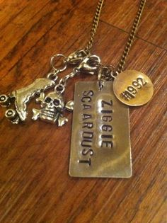 Roller Derby Necklace by kimsjewelry on Etsy