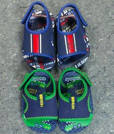 Garanimals Toddler Boy Later Gator Ride It! Sandals Size 4 Green Blue Red 2 pair #Garanimals #RideItLaterGatorSandals