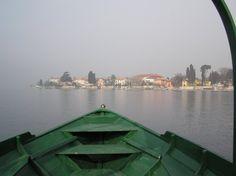 Mandello del Lario,  vista dal lago