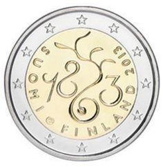 2€ Conmemorativos Finlandia 2013 La Dieta de 1863 (150º Aniversario del Parlamento de Finlandia)