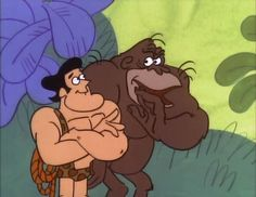 George of the Jungle - the funniest cartoon EVER! I loved the way this made my Dad laugh; Jungle Cartoon, Cartoon Crazy, Cartoon Tv, Vintage Cartoon, Retro Cartoons, Old Cartoons, Classic Cartoons, Animated Cartoon Characters, Animated Cartoons
