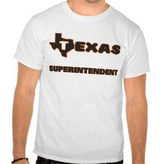 Texas Superintendent T Shirt, Hoodie Sweatshirt