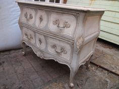 French Louise xv style commode painted by Ben Hubert.
