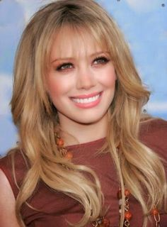 21 Trendy Hairstyles to Slim Your Round Face | Bangs long hairstyles ...