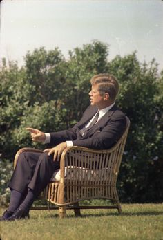 1963. 2 Septembre. ST-C276-8-63. President John F. Kennedy Speaks During Interview with CBS New Anchor, Walter Cronkite - John F. Kennedy Presidential Library & Museum