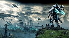Xenoblade Chronicles X Game 2015 Canvas Poster Print 24X36 *** Read more  at the image link.Note:It is affiliate link to Amazon. #PosterPrint