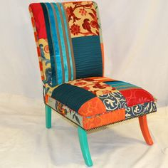 designersGuildPatchworkLowChair1st500x500 Accent Chairs, Furniture, Home Decor, Upholstered Chairs, Decoration Home, Room Decor, Home Furnishings, Home Interior Design, Home Decoration
