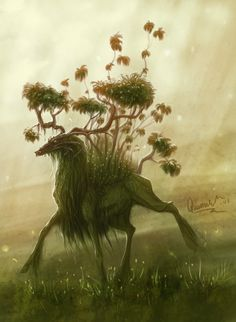 The Spirit of the Forest by SmolderBone.deviantart.com on @DeviantArt