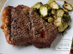 Paleo Mediterranean Steak freezer meal friendly directions in post!