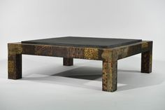 Lot # : 2 - PAUL EVANS PATCHWORK COFFEE TABLE