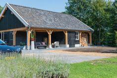 Dubbele houten garage, Zelhem 2