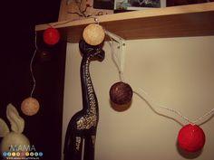 Cotton Ball Light Krok po kroku na blogu (DIY) http://mama-kreatywna.pl/2015/05/cotton-ball-lights-jak-zrobic-diy-krok-po-kroku/