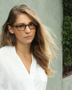 e00c12c6fd797 Stephanie wears our Oriole glasses in Teak. - Women s eyewear styles