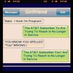 ha! Something my boyfriend would do. Lol.