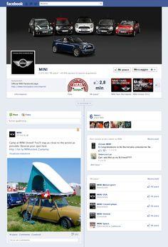 Timeline Facebook: Mini