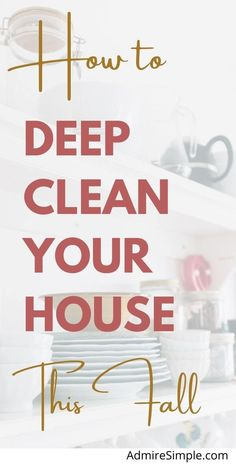Deep Cleaning, Spring Cleaning, Cleaning Hacks, Clean All The Things, House Cleaning Checklist, Making Life Easier, Declutter Your Home, Cleaners Homemade, Natural Cleaning Products