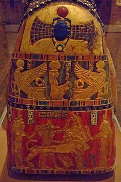 Mummy of Artemidora from Meir Egypt 90-100 CE Painted and Gilded Plaster and Applique (1)