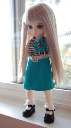 Evie Skirt and Top by MelancholyWings, via Flickr - several patterns / tutorials